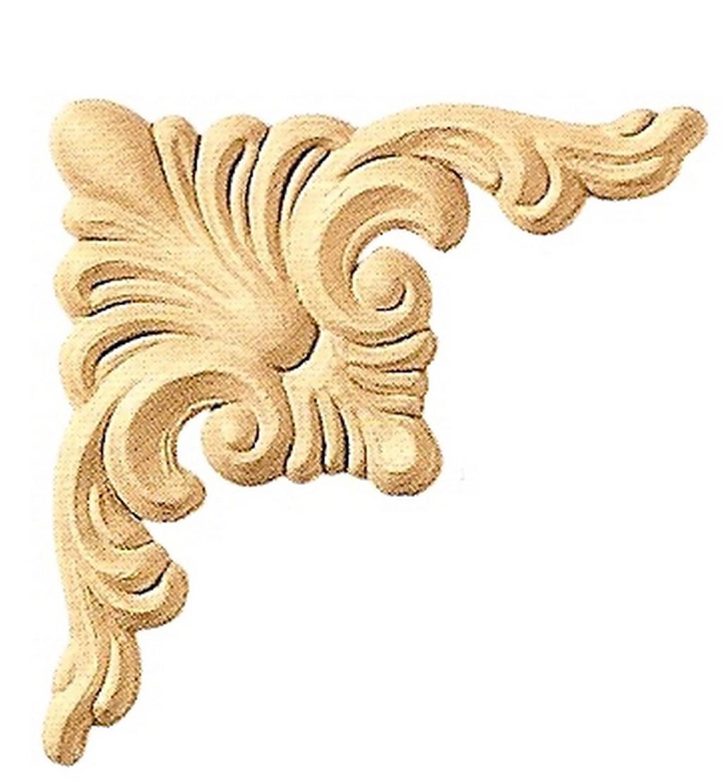Fregio in legno pressato 13105  Tarquini Legnami